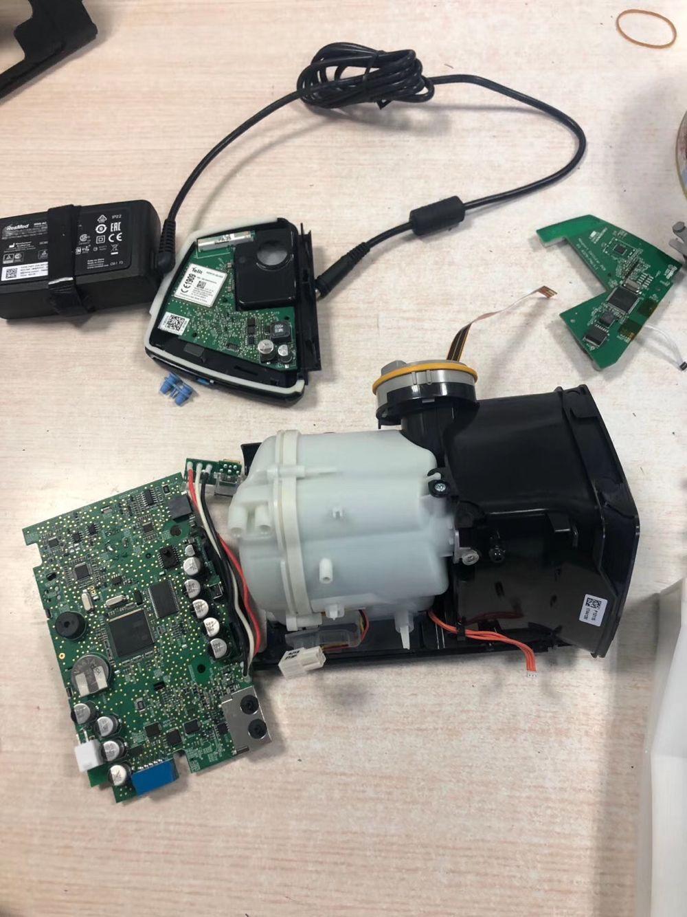 瑞思迈S10呼吸机主板故障维修与更换